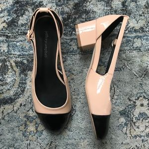 New in Box Jeffrey Campbell Tulloch Patent Heels